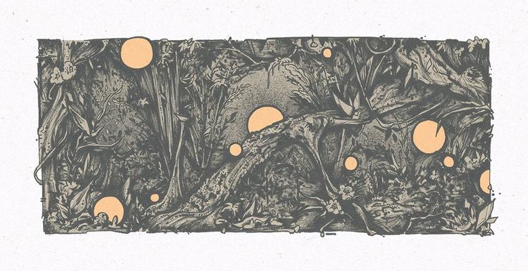 jungle 2015 - ate, illustration - esze_ate | ello