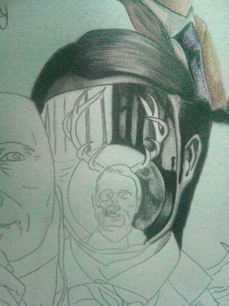 Wip. Hannibal - artwork, hannibal - eddydeamon | ello