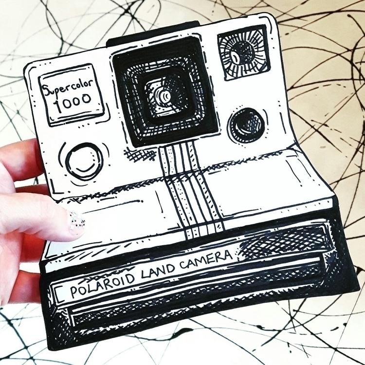 photography, polaroid, illustration - helenrochfort | ello