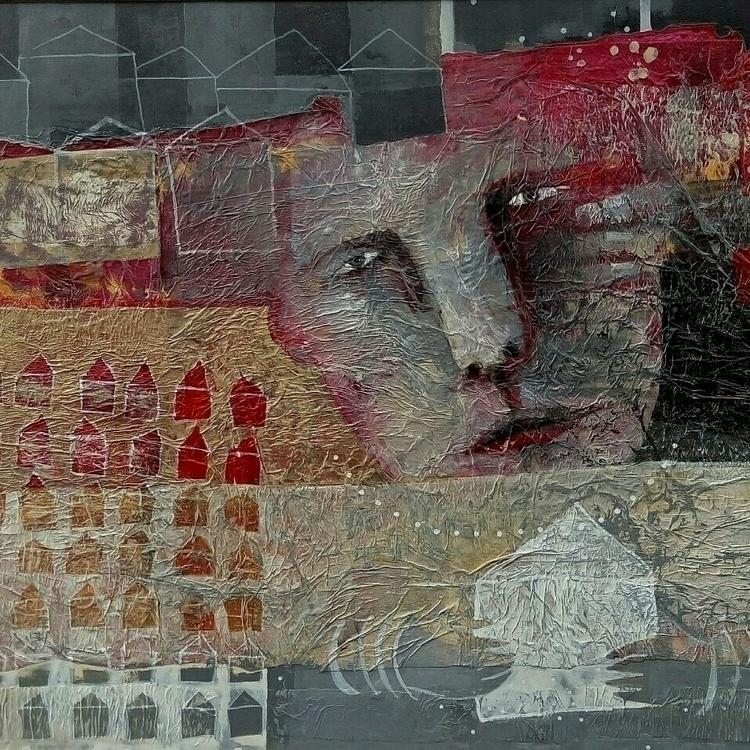 letter home acrylic canvas 80x6 - jolitacc | ello
