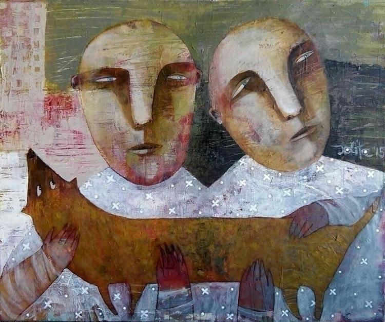 acrylic canvas 50x60 jolita.cc  - jolitacc | ello