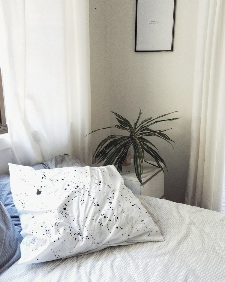 line Paint Town euro pillowcase - meandzebedee | ello