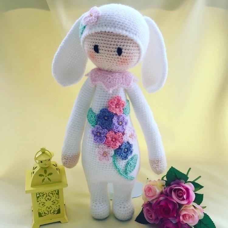 Soft flowers cute bunny. favour - mysweetcherubs | ello