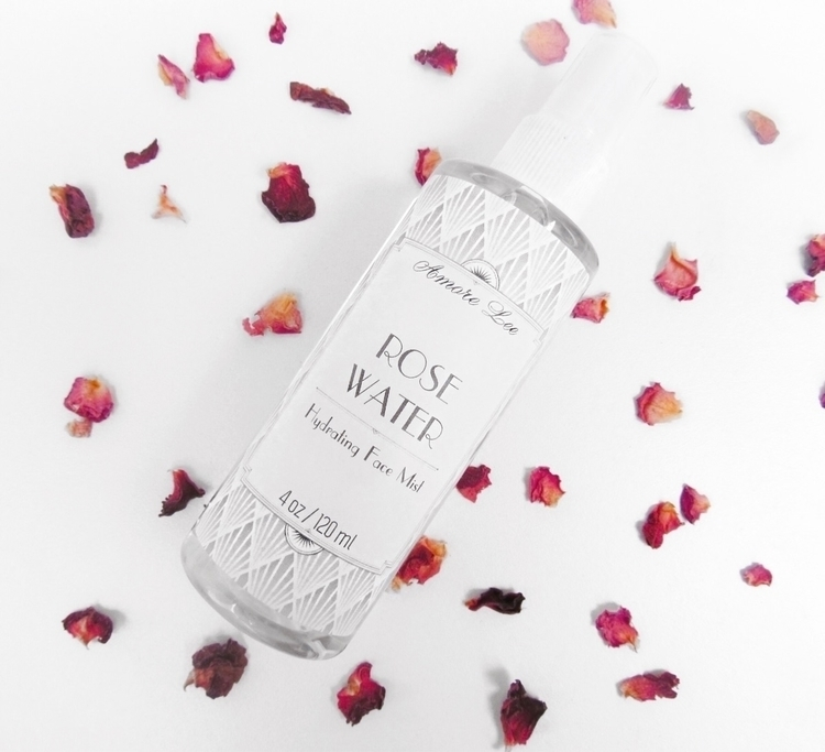 Hydrating Rose Water Facial Mis - amorelee | ello