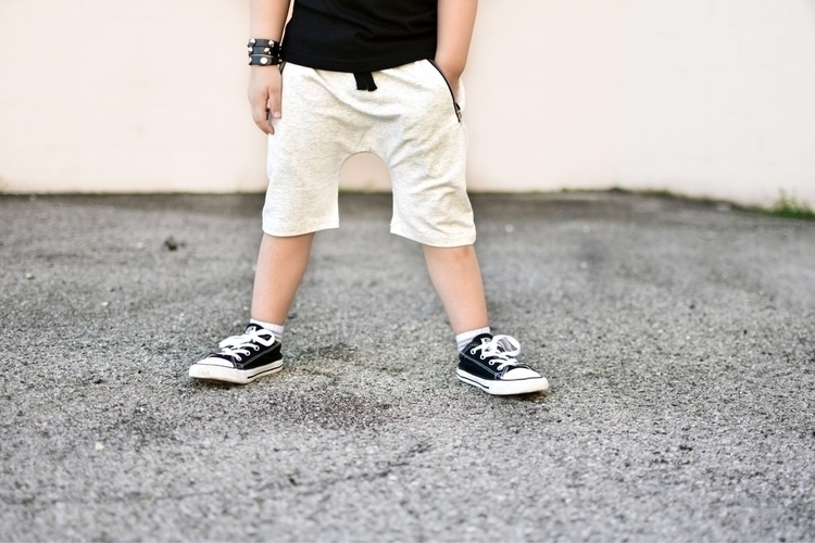 heather zip pocket shorts - 9twentyfivekids | ello