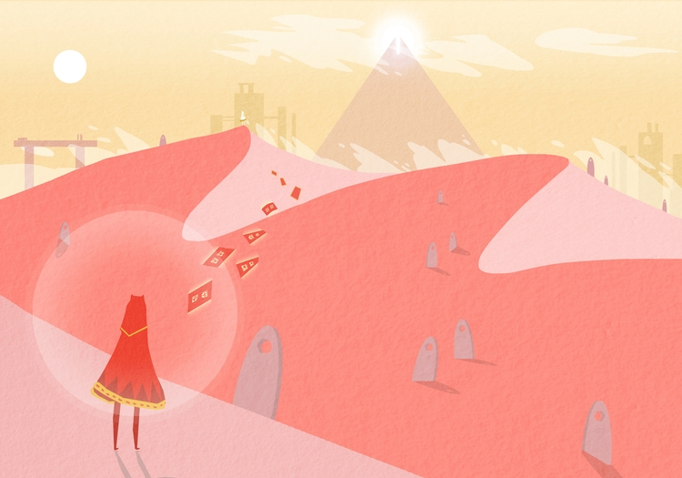 Journey. Wonderful illustration - fabimo | ello