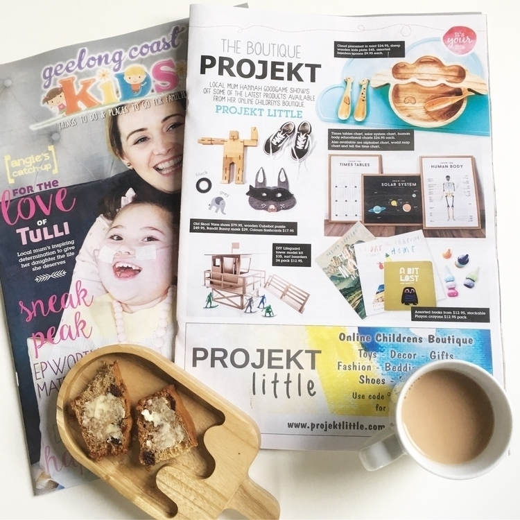 Morning tea school holiday read - projektlittle | ello