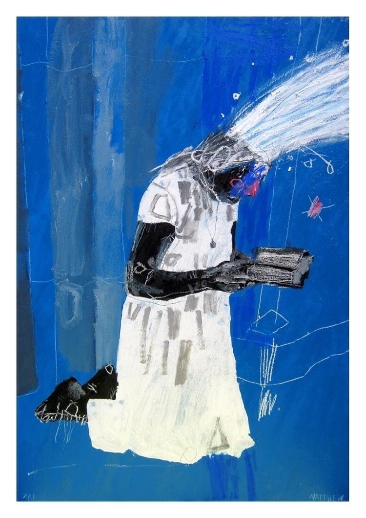 Milk. 88x60cm, 2014 - art, hell - carpmatthew | ello
