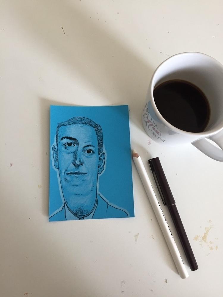 Coffebreak doodle work - astrosim | ello