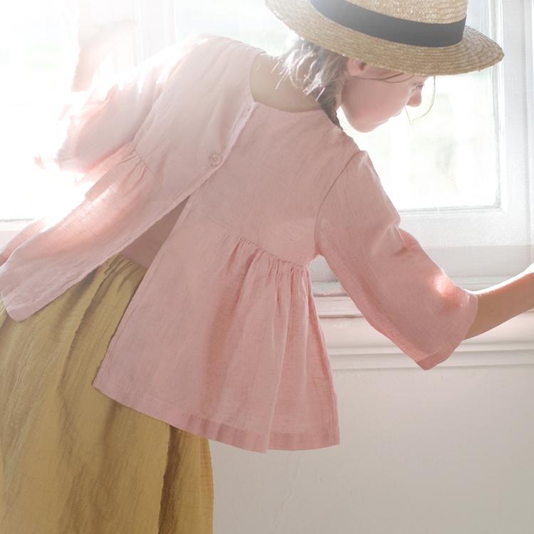 SALE TIME ♡ - linen vest worn f - aandjkids | ello