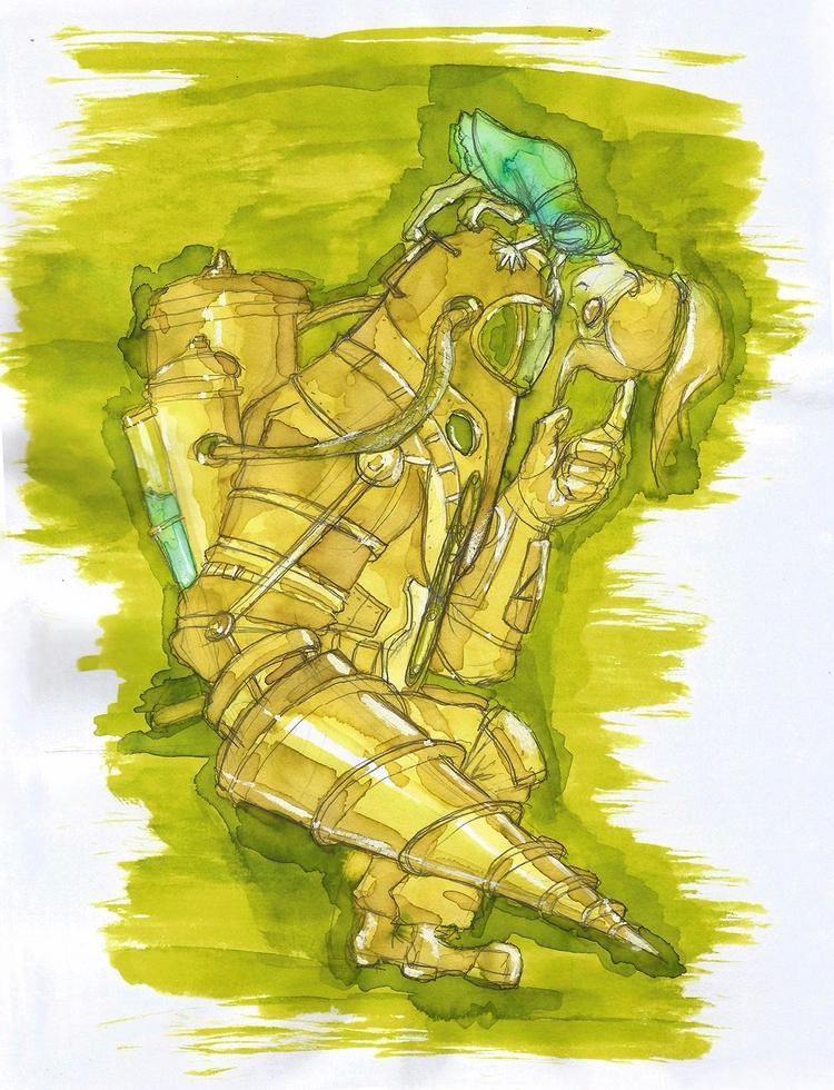 Bioshock fanart. 2 favorite, ad - lewm | ello