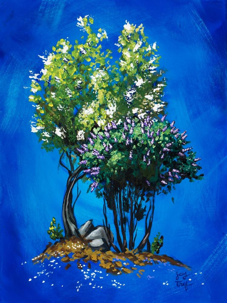 Apple Blossoms Lilacs, 18 24, A - jaytref | ello