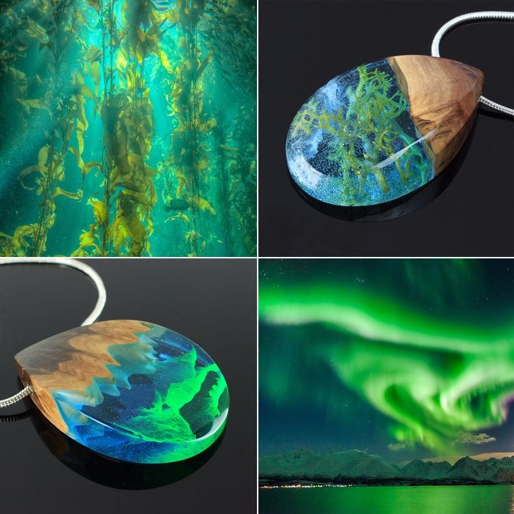 Inspired nature - wood, pendant - woodallgood | ello