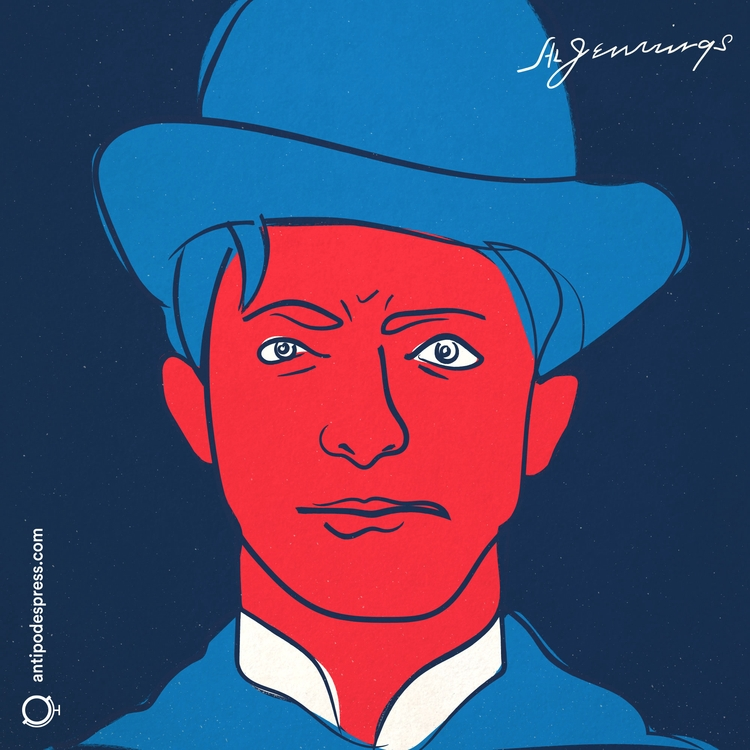 Author portrait: Al Jennings Ok - antipodes | ello