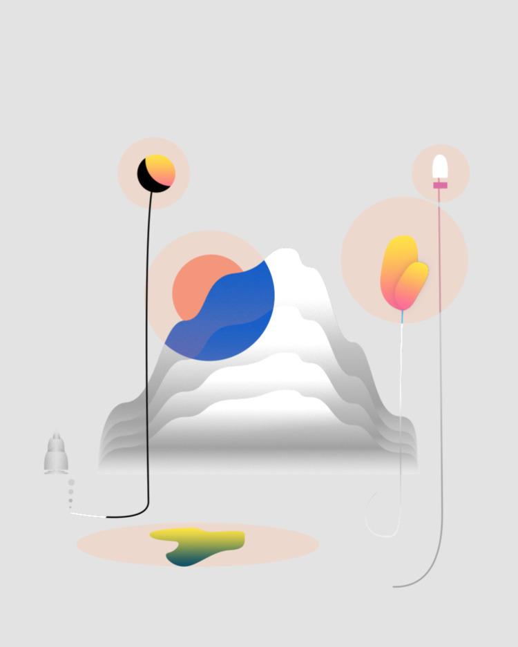 card, 2017 - art, illustration - esdanielbarreto | ello