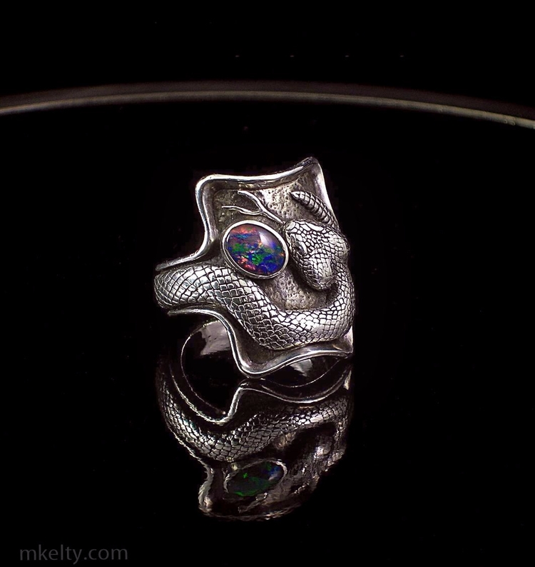 ring years Kind beat - ring#rattlesnake#snake#sterling#opal#mkelty - mkeltyjewelry | ello