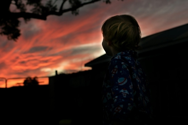 checking sunset  - ellochildhood#fashion#photography#candid#childhood#kidsfashion#aussiehandmade#smallbusiness#fashionphotography#family#love#aussiekid#mumlife#outdoor#fashionista#childhoodunplugged#portraitphotography#childphotography#ello - zariah | ello