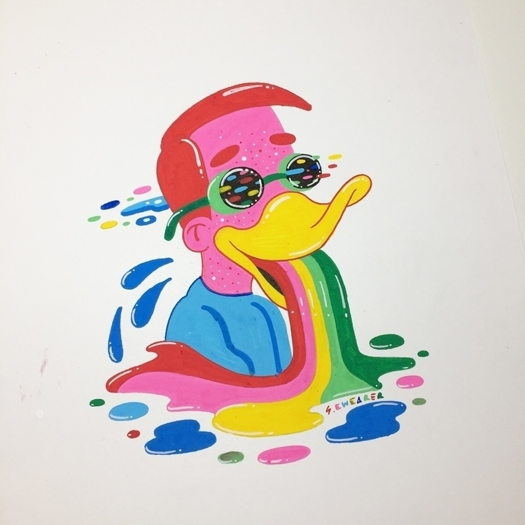 Signed Original Duckhouse/Millh - ms_wearer | ello