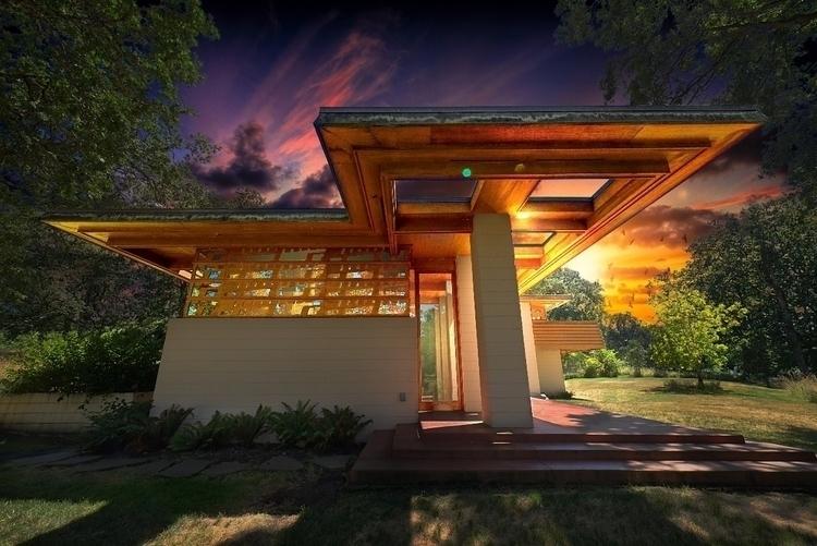 Frank Lloyd Wright house Silver - toddamcintyre | ello