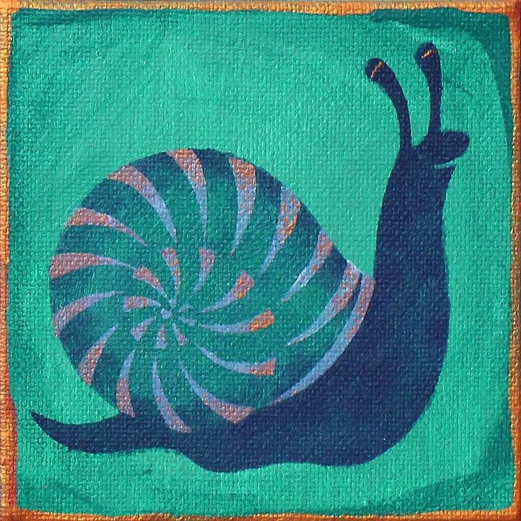Happy - snail - lirelyn   ello