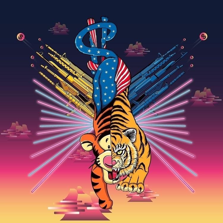 TigerGuns - kzengjiang, tiger, animal - kzengjiang | ello