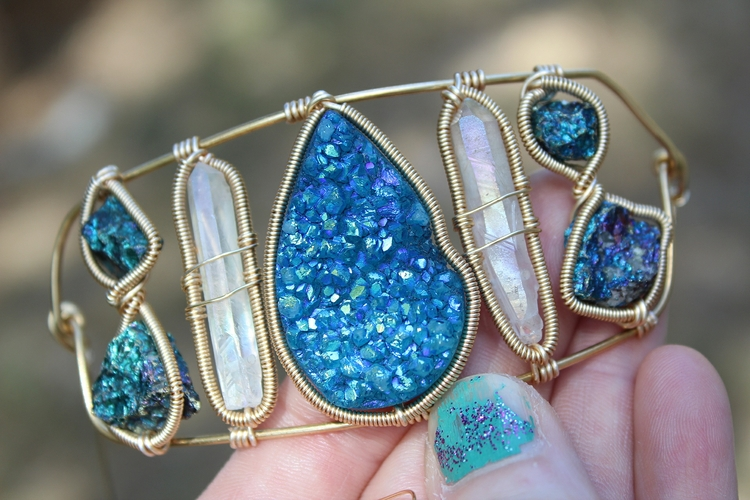 sneak peek custom turquoise - c - moongoddessvibes | ello