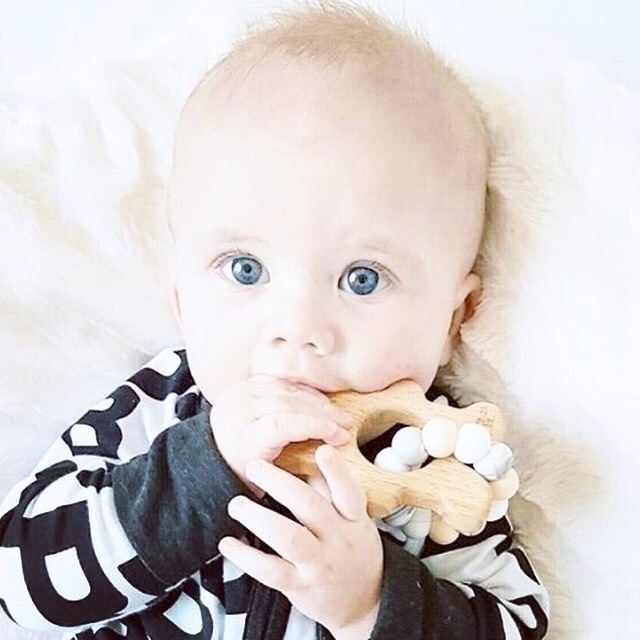 TED teether - perfect chewable  - naturebubz | ello