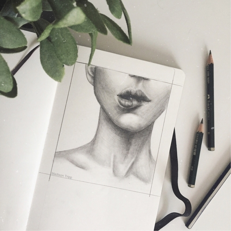 bit rough mouth drawing practic - madisontripp | ello