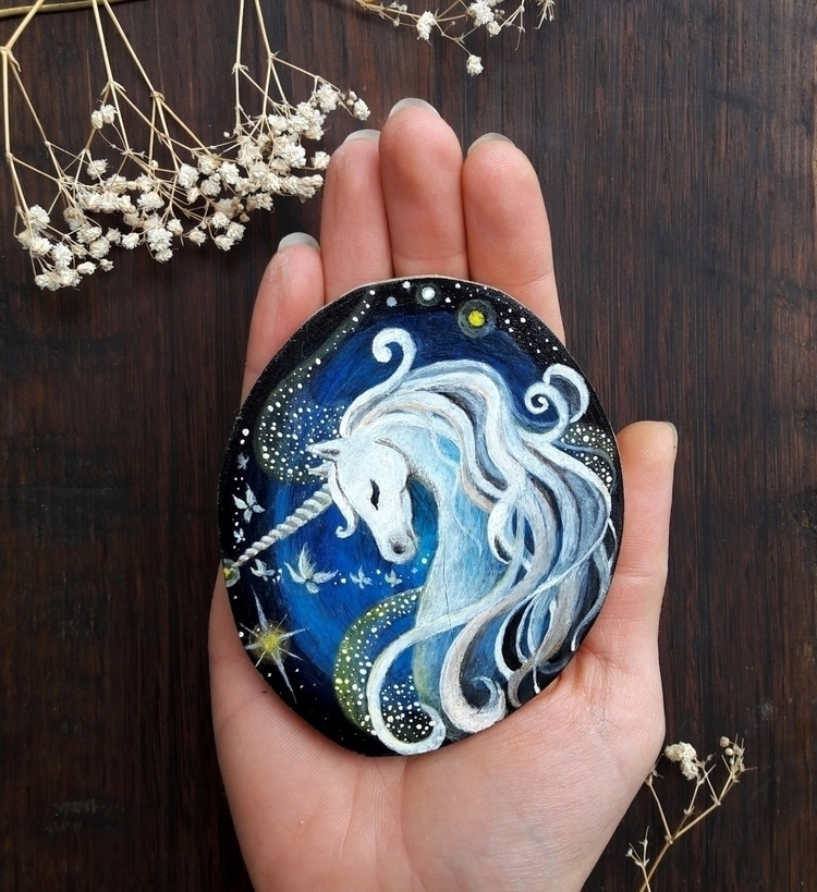 Magic Unicorn - unicorn, magic, animal - magicwood_creations | ello