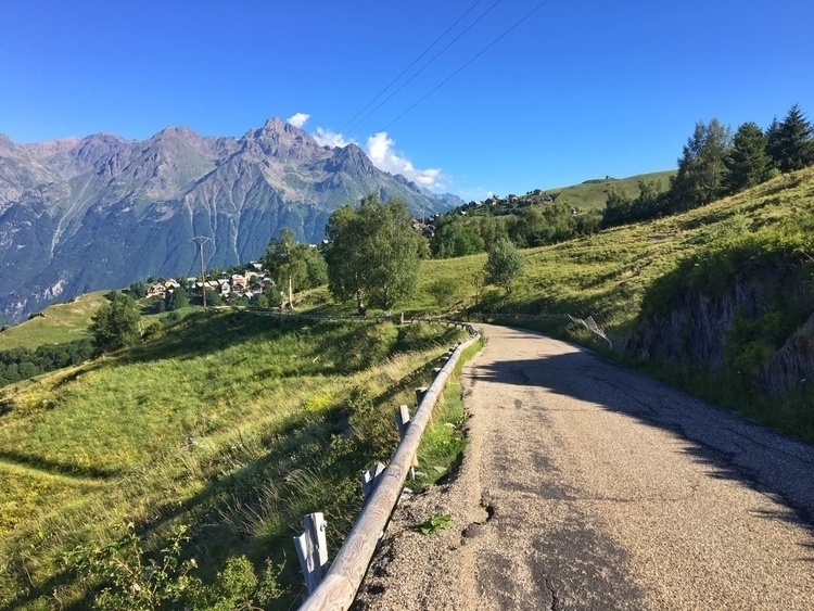 traveled - road, Alps] - rowiro | ello