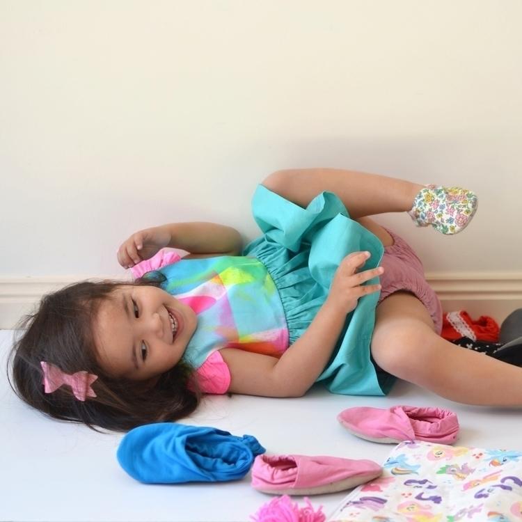 Kat admiring shoe stash - banditsandbambinas | ello