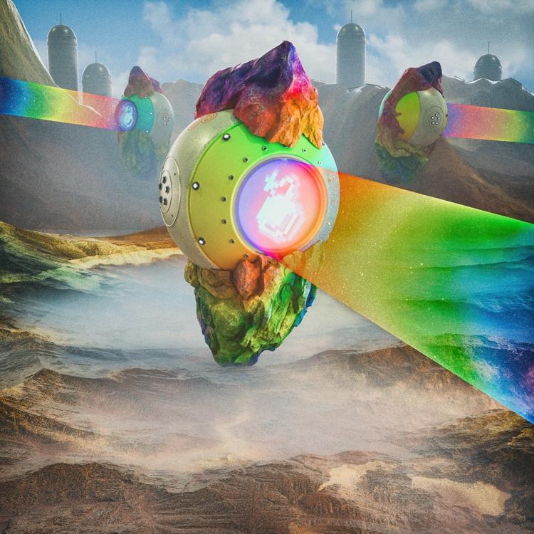 • Rainbow Blast - cgi, octanerender - skeeva | ello