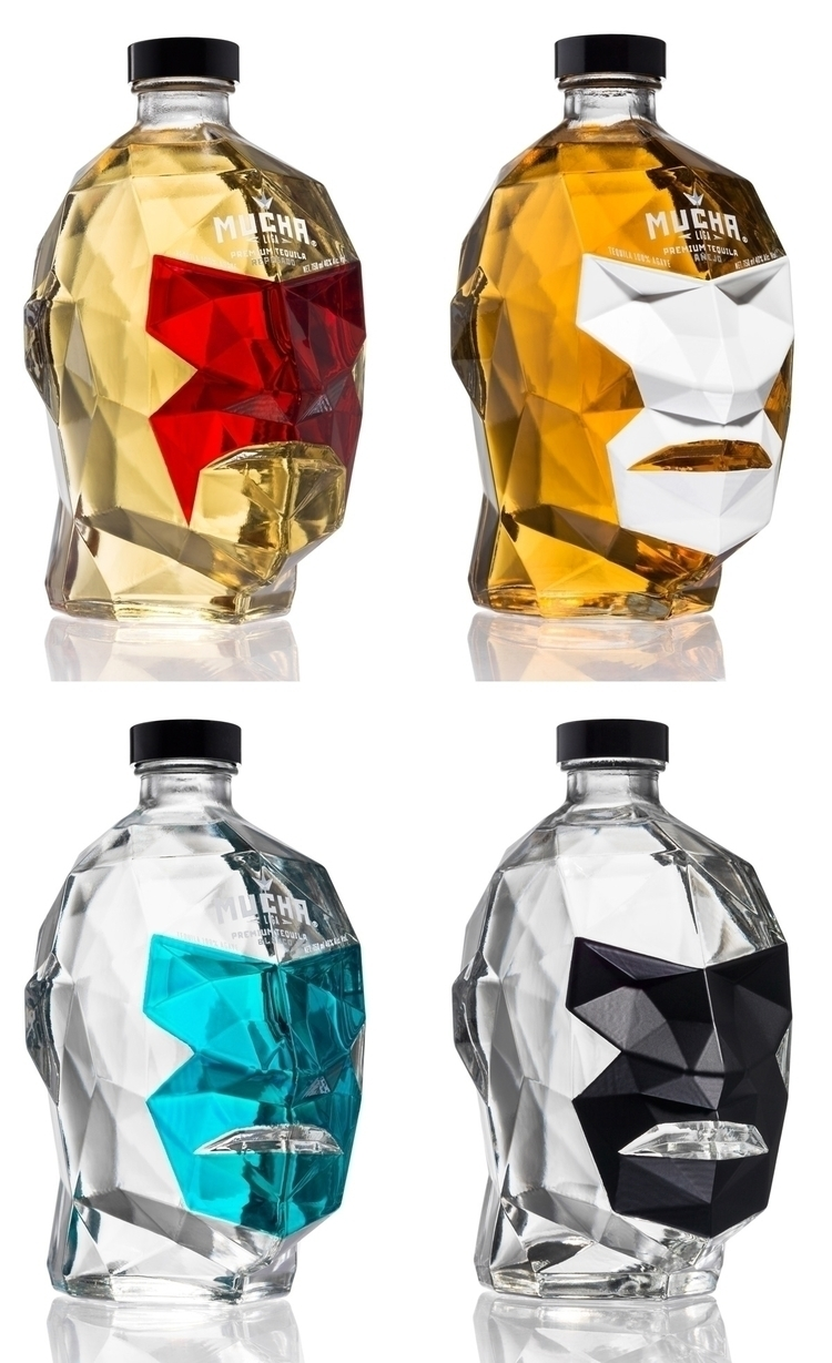 Bottle design MUCHA LIGA TEQUIL - eneworks | ello