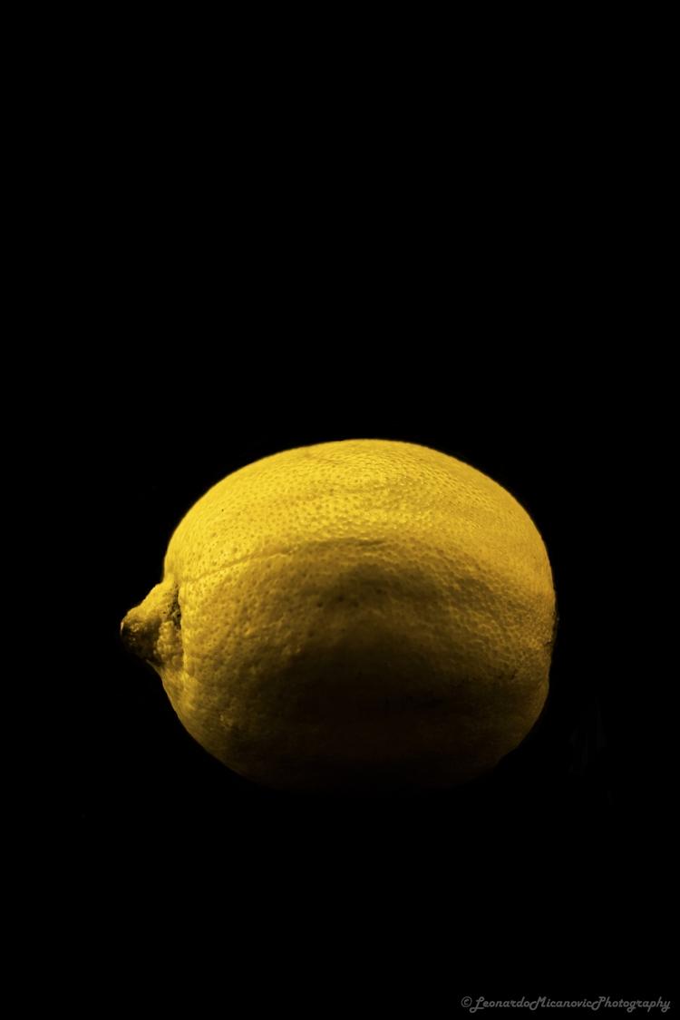 Lemon surrounded darkness - citrus - leonardo7 | ello