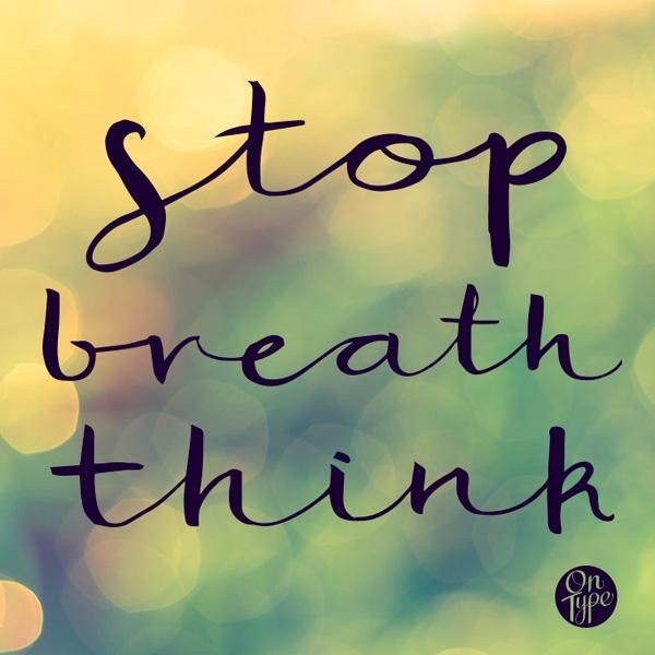 stop, breath, bokeh, zen, type - ross_ | ello