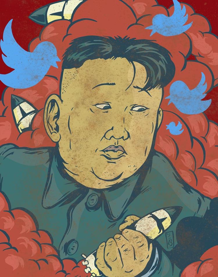 Missiles Tweets - illustration - thomcat23 | ello