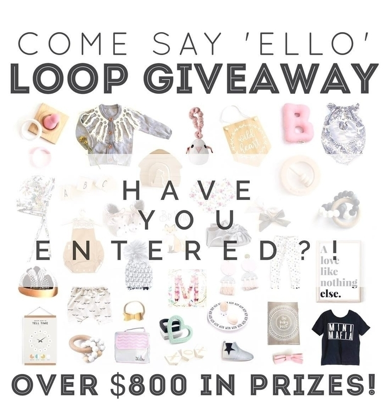 entered amazing giveaway ? refe - malimiko | ello