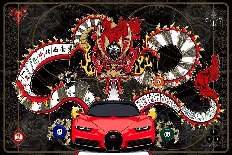 Dragon PokerMahjong - DigitalDecadeCyberia - kzengjiang | ello