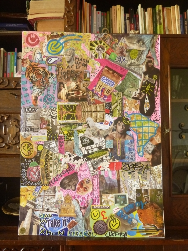 MASH DA PLACE TIGER STYLE - collage - toorude4yiu   ello