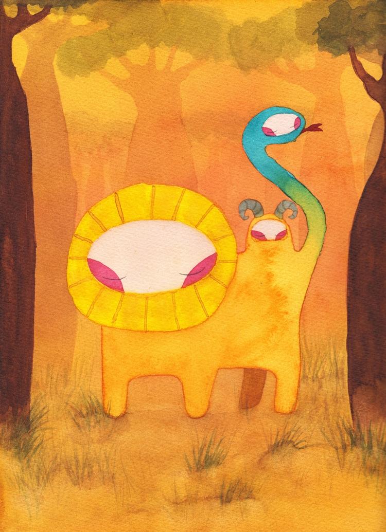 illustration, watercolor, design - almasoderlind   ello