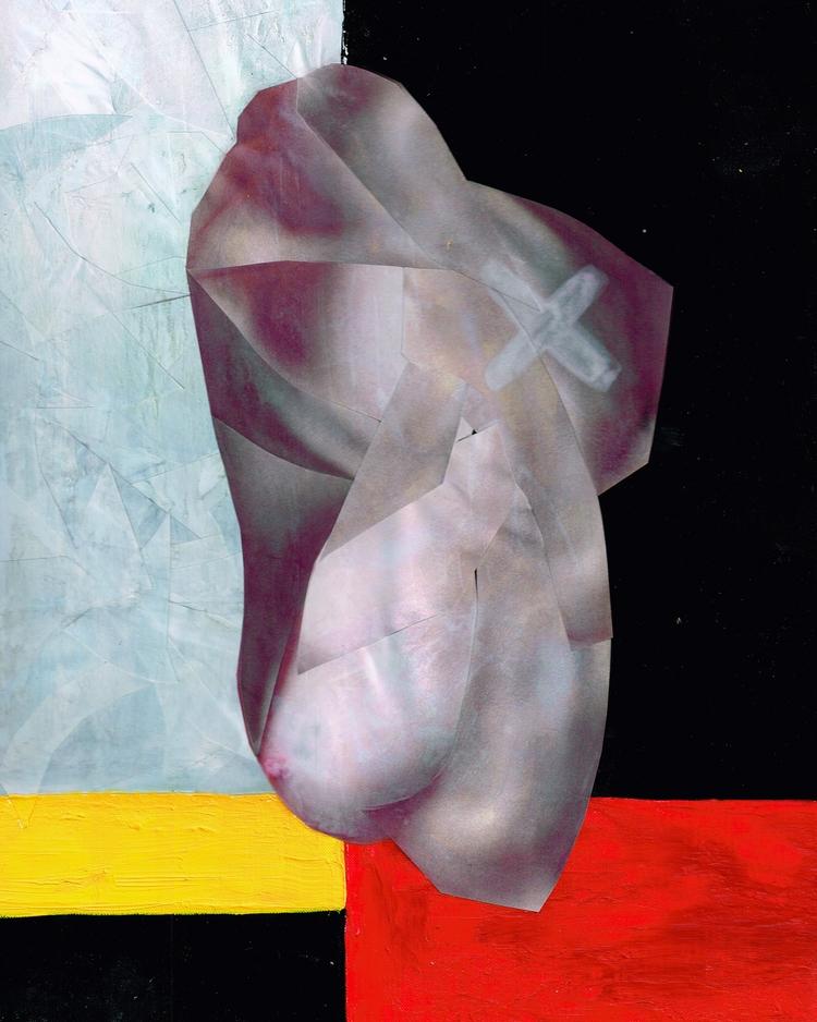 della Carne Collage, acrylic bo - missingsock | ello