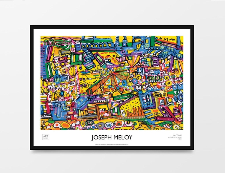 Art World Joseph Meloy website - artpresser | ello