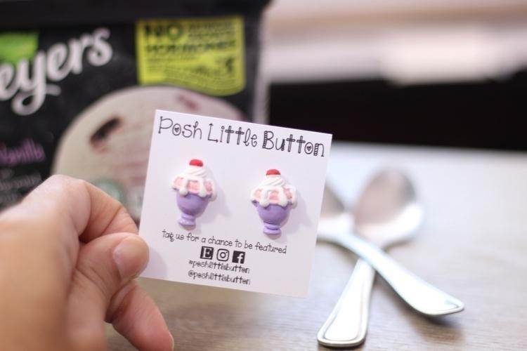 Ice cream earrings!!  - jewelryblogger - poshlittlebutton | ello