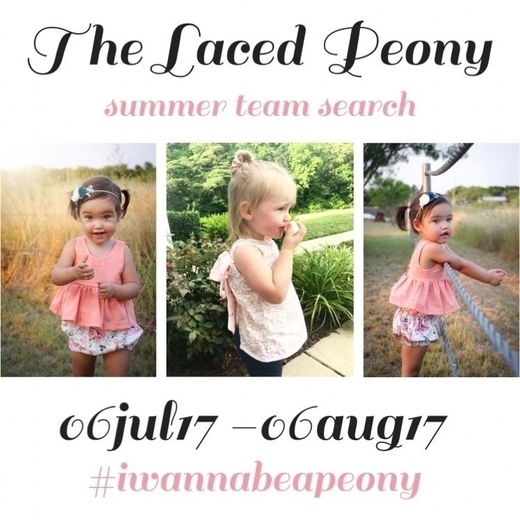 set team members summer! Check  - thelacedpeony   ello