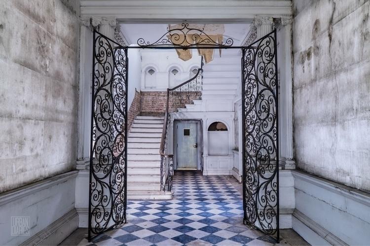 Lobby | Shot abandoned art gall - urbandiaries | ello