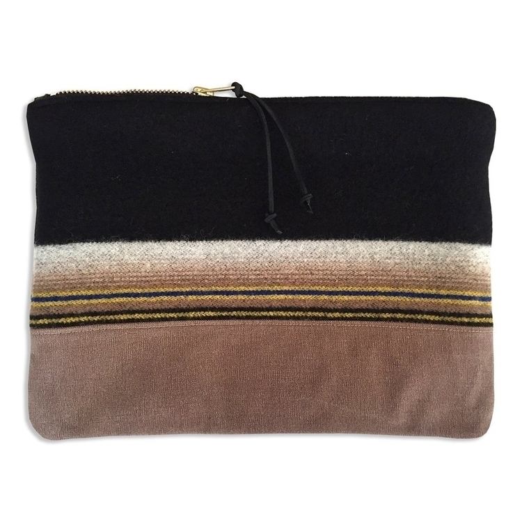 Large zippered pouch repurposed - patrickdenanddelve | ello