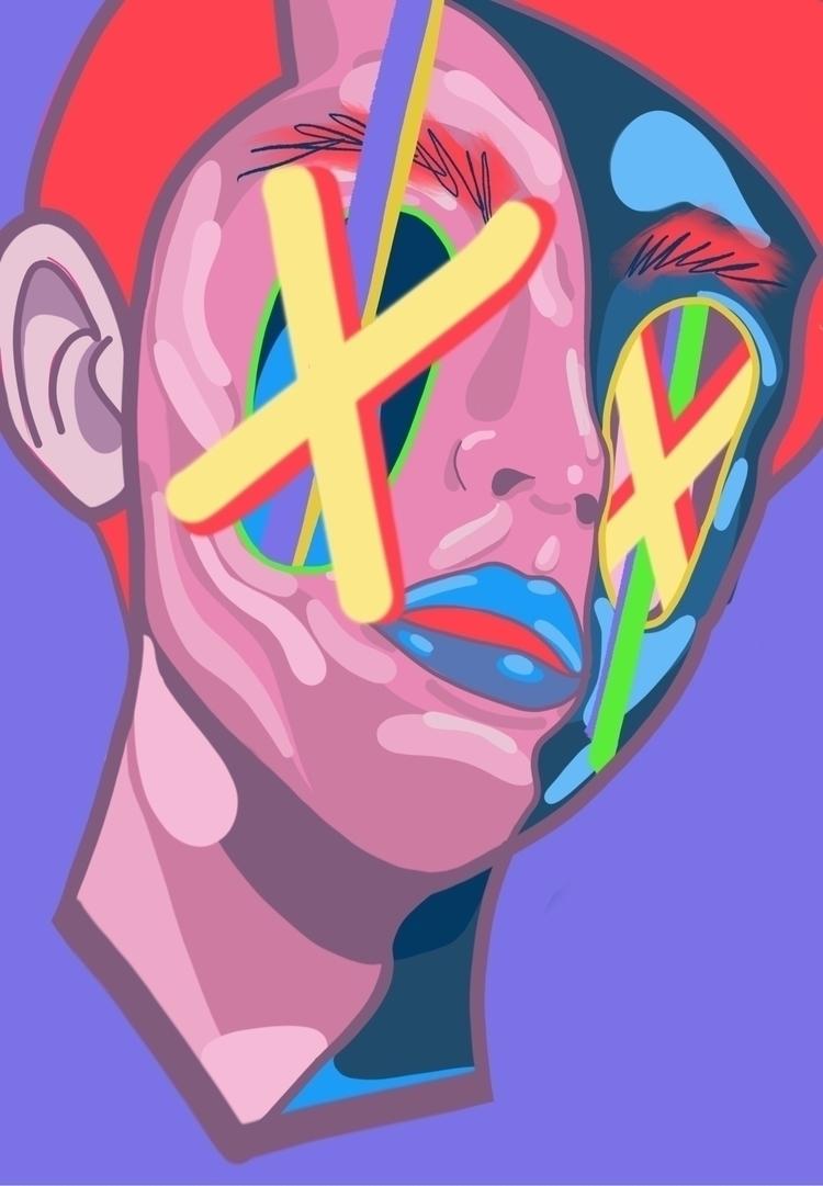 Lust - digital, abstract, elloart - tastycreates | ello
