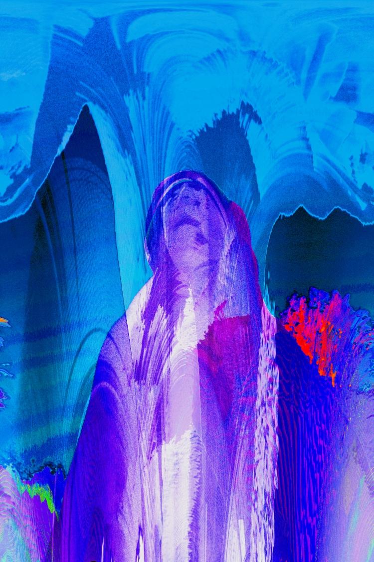 Weary Traveler - digital, art, graphic - errornes | ello