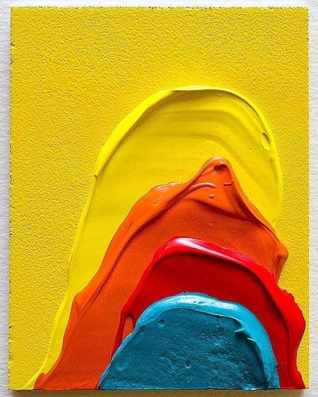 2.5 3.25 Acrylic + Spray Paint  - andrew_faris   ello