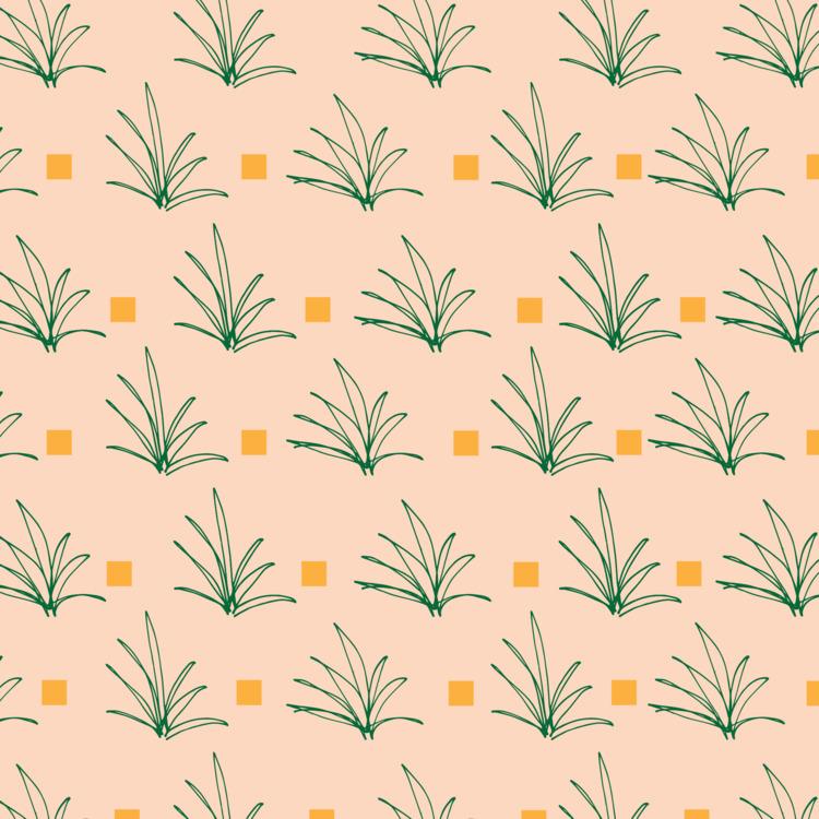desert plant pattern - franckieworld | ello